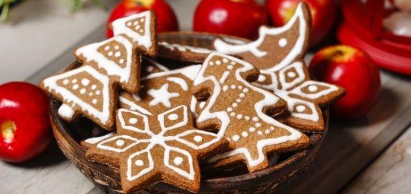 Різдвяне імбирне печиво