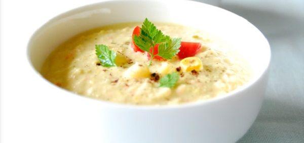 Курячий суп з перловою крупою